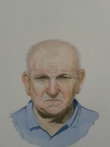 Sid, watercolour
